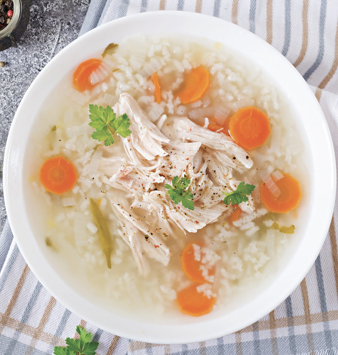 Warm up with delicious soup!