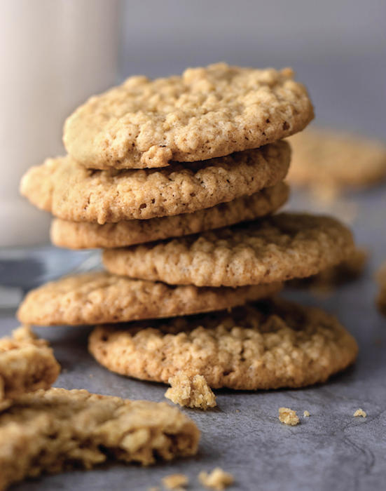 4-Ingredient Hazelnut Cookies