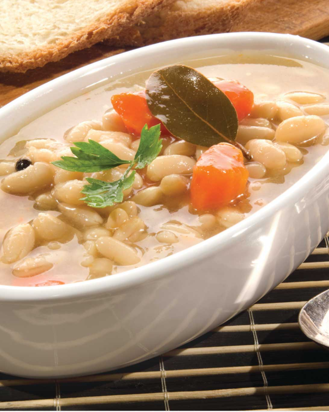 White Bean Soup with Seasoned Ham